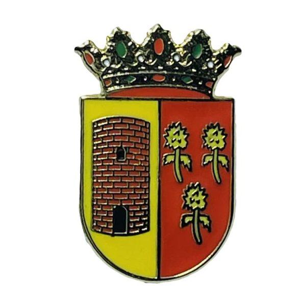 pin escudo heraldico ain castellon
