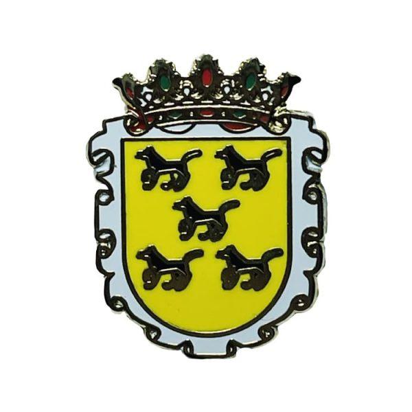 pin escudo heraldico alegria guipuzcua