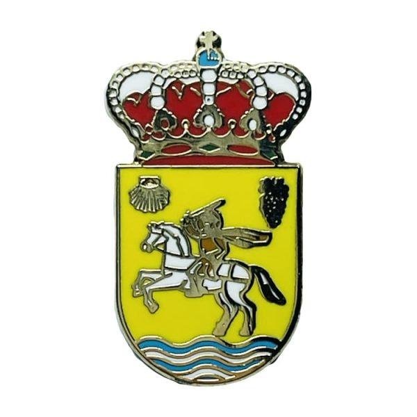 pin escudo heraldico alesanco la rioja