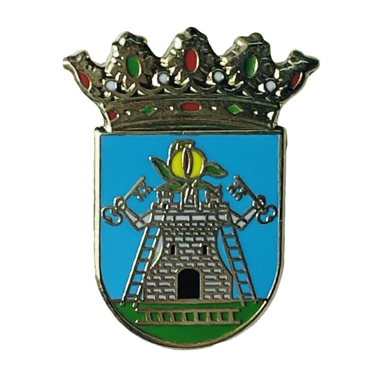 pin escudo heraldico alhama de granada granada