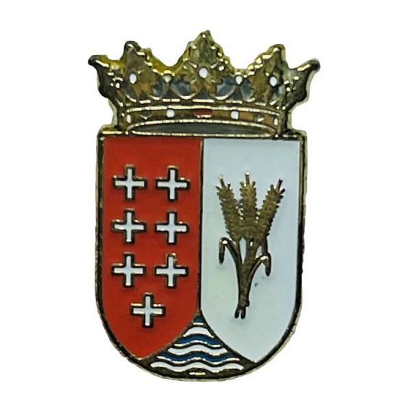 pin escudo heraldico almaraz de duero zamora