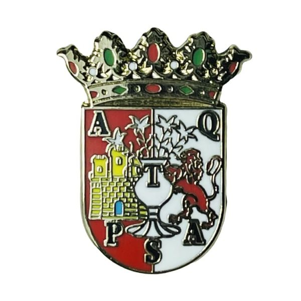 pin escudo heraldico antequera malaga