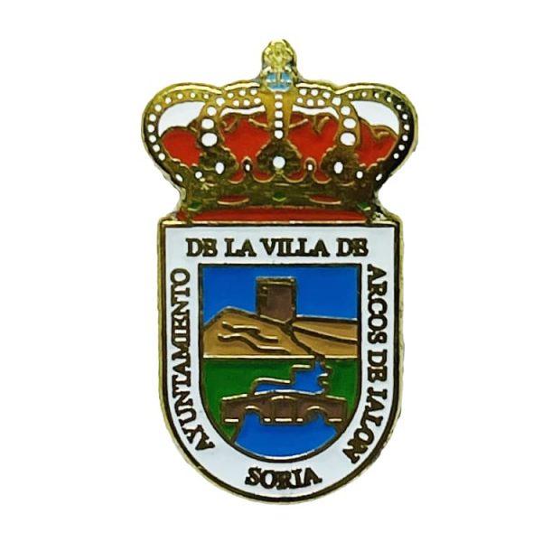 pin escudo heraldico arcos de jalon soria
