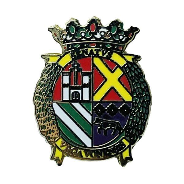 pin escudo heraldico arjona jaen