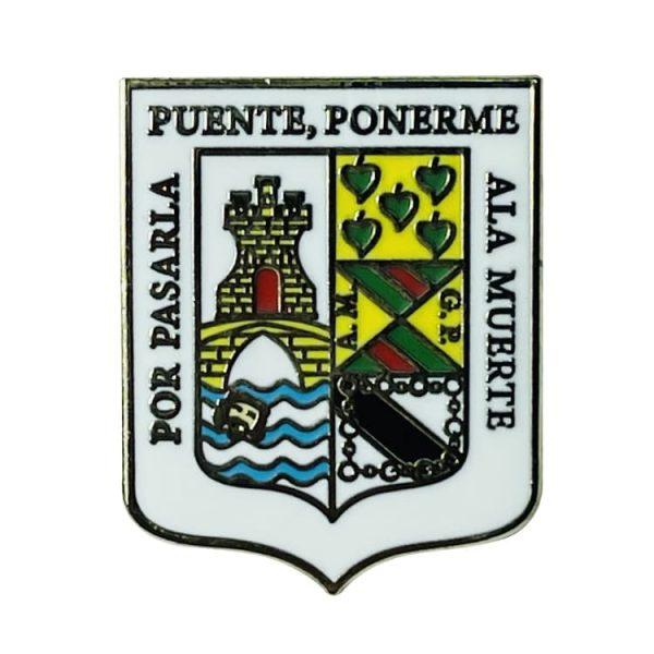 pin escudo heraldico artzentales vizcaya