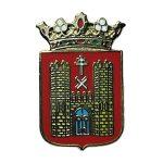 pin escudo heraldico baeza jaen