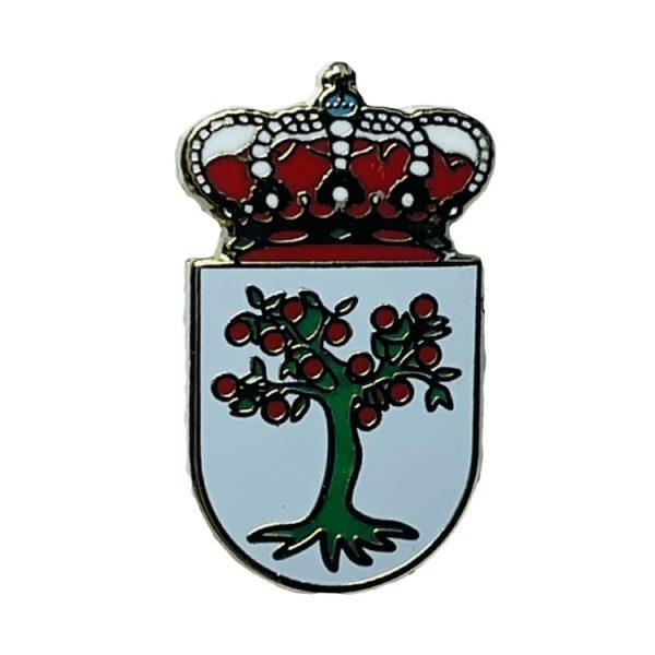 pin escudo heraldico el madroño sevilla