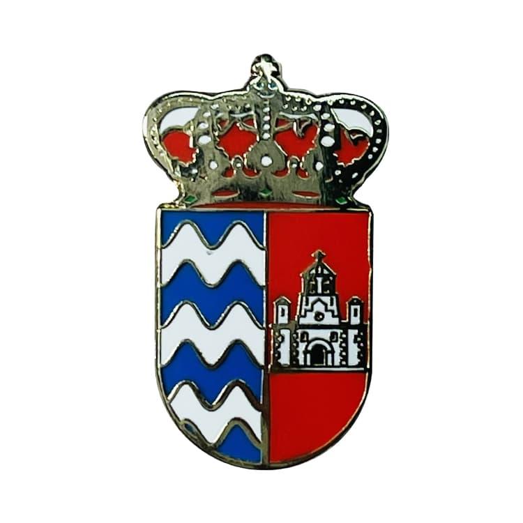 pin escudo heraldico espinosa de cerrato palencia