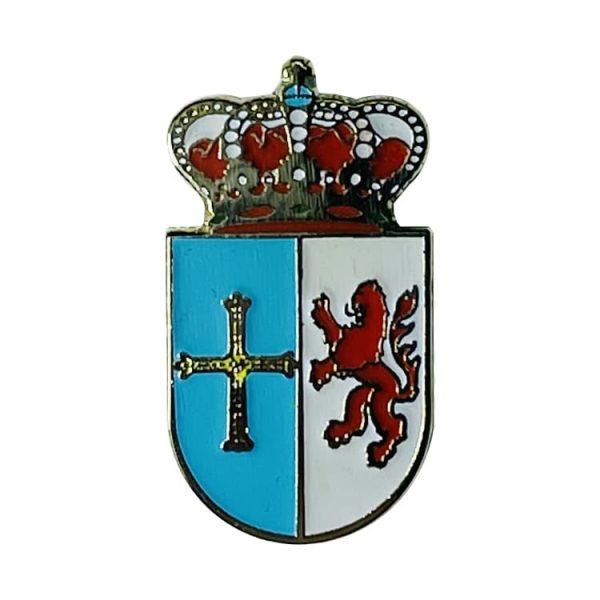 pin escudo heraldico historico cangas de narcea asturias