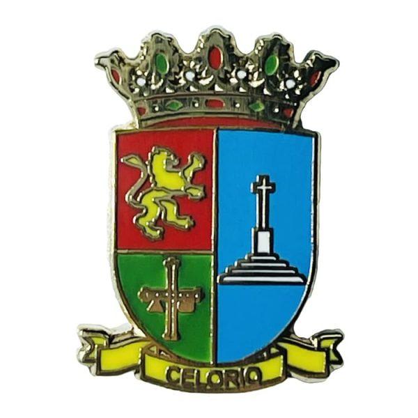 pin escudo heraldico historico celorio asturias