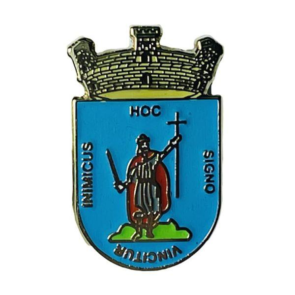 pin escudo heraldico historico gijon asturias