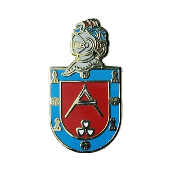 pin escudo heraldico historico lastres asturias