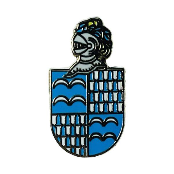 pin escudo heraldico historico lugones asturias