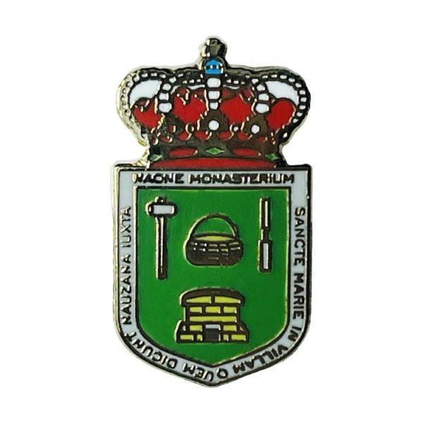 pin escudo heraldico historico viella asturias