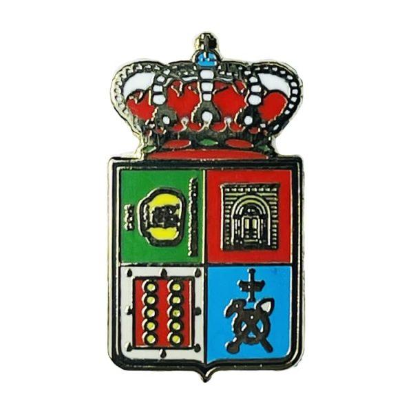 pin escudo heraldico historico villamayor asturias