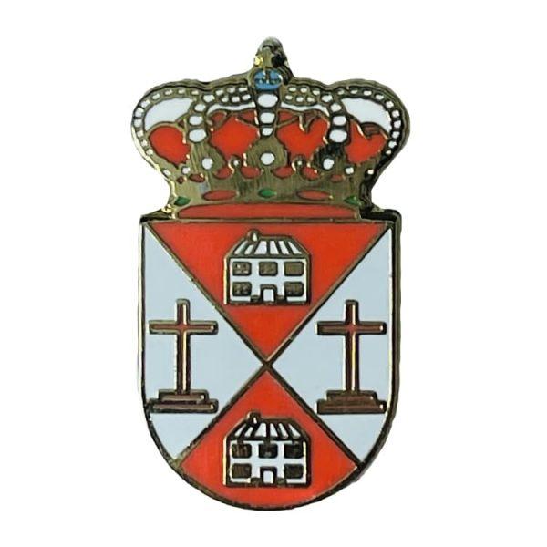 pin escudo heraldico las ventas de san julian toledo