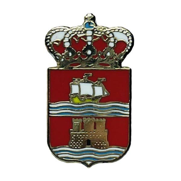 pin escudo heraldico laujar de andara almeria