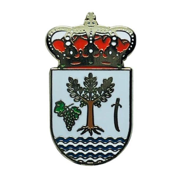 pin escudo heraldico molvizar granada