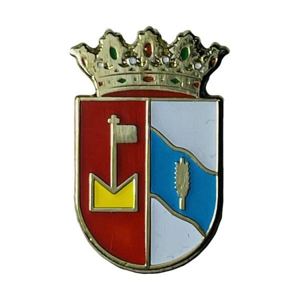 pin escudo heraldico piedratejada zaragoza