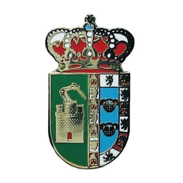 pin escudo heraldico puebla de guzman huelva