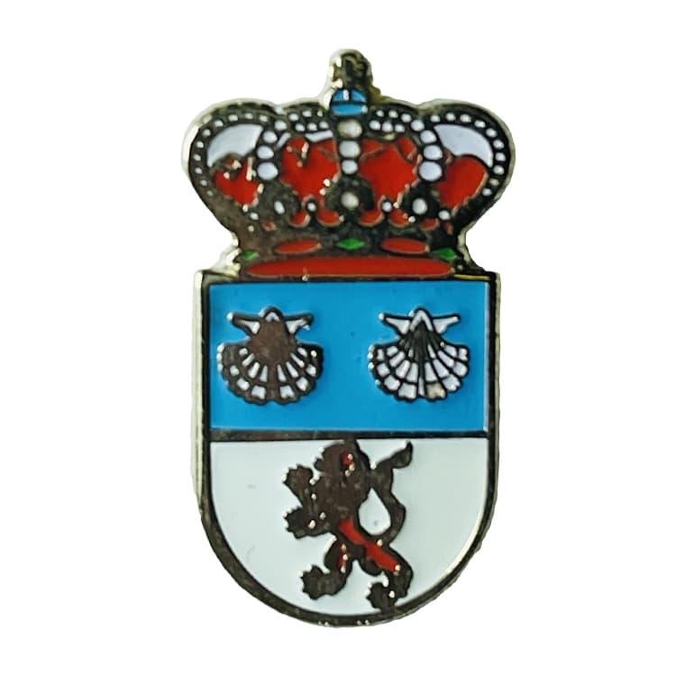 pin escudo heraldico san andres de rabanero leon