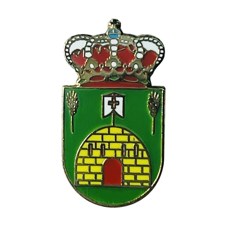 pin escudo heraldico tierz huesca