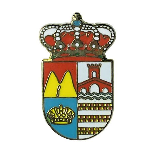 pin escudo heraldico villarta de los montes badajoz