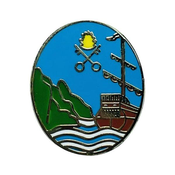 pin escudo heraldico zumaya guipuzcua