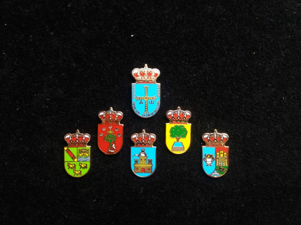 pins heraldicos ayuntamientos